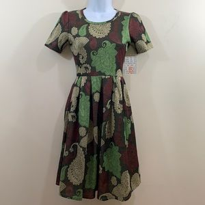 LuLaRoe Amelia Dress  NEW  Size XS